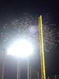 2012年7月26日(木)の神宮球場での花火