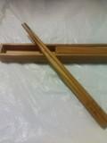 屋久杉のお箸と檜の箸入れ♪