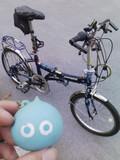 フォールデングバイクとスライム♪