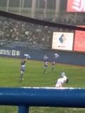 4月25日(水)の神宮球場