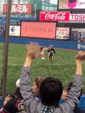 2012年5月21日(日)の神宮球場