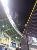 2012年5月23日(水)のQVCマリンフィールドで上がった花火
