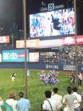 2012年7月11日(水)の神宮球場