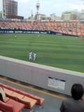 2012年9月5日(水)の横浜スタジアム