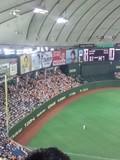 2012年9月23日(日)の東京ドーム