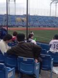 2013年4月6日(土)の神宮球場