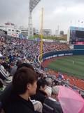 2013年5月1日(水)の横浜スタジアム