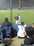 2013年5月8日(水)の神宮球場のロマン投手とバレンティン選手
