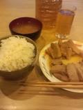 2013年7月21日(日)の夕食
