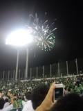 2013年8月22日(木)の神宮球場の花火
