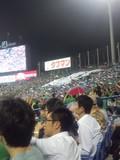 2013年8月22日(木)の神宮球場