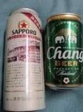 札幌開拓史麦酒とタイのチャーンビール